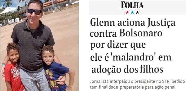 Queixa de Greenwald contra Bolsonaro só tem um problema: a Justiça