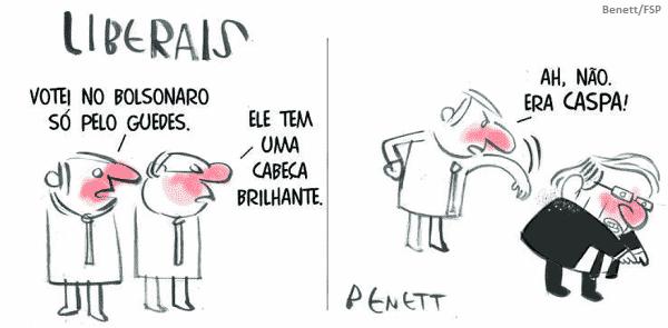 Guedes foi a desculpa do mercado e da mídia para Bolsonaro